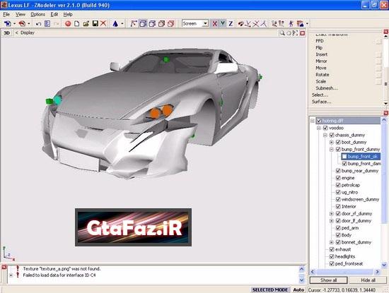 دانلود نرم افزار ZModeler برای (GTA 5 (San Andreas